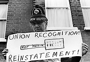 Union protests