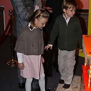 NLD/Apeldoorn/20081101 - Opening tentoonstelling SpeelGoed op paleis Het Loo, Anna en Lucas