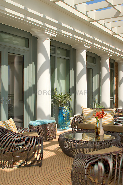 2425 L Street designer Lorne Gross Deck patio Verandah Porch