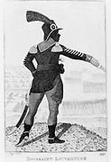 Pierre Dominique Toussaint l'Ouverture (1746-1803) Haitian revolutionary leader. Etching by John Kay 1802.