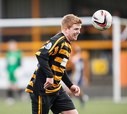 Alloa Athletic's Ryan McCord.<br /> Alloa Athletic 3 v 0 Falkirk, Scottish Championship game played today at Alloa Athletic's home ground, Recreation Park.<br /> &copy; Michael Schofield.