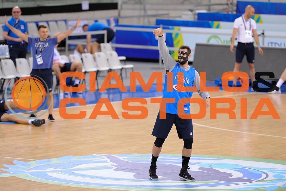 DESCRIZIONE: Torino FIBA Olympic Qualifying Tournament Allenamento<br /> GIOCATORE: Marco Stefano Belinelli<br /> CATEGORIA: Nazionale Maschile Senior Allenamento<br /> GARA: FIBA Olympic Qualifying Tournament Allenamento<br /> DATA: 05/07/2016<br /> AUTORE: Agenzia Ciamillo-Castoria
