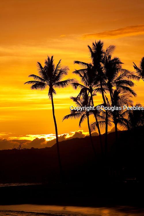 Sunset, Salt Pond Beach Park, Hanapepe, Kauai, Hawaii