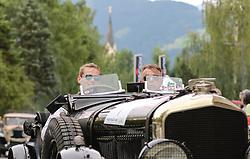 20.07.2017, Gröbming, AUT, Ennstal-Classic 2017, Start Prolog, im Bild Christoph Wührmann und Ulf Dreier, DE, Bentley Speed Six Bj. 1928 // during the Ennstal-Classic 2017 in Gröbming, Austria on 2017/07/20. EXPA Pictures © 2017, PhotoCredit: EXPA / Martin Huber