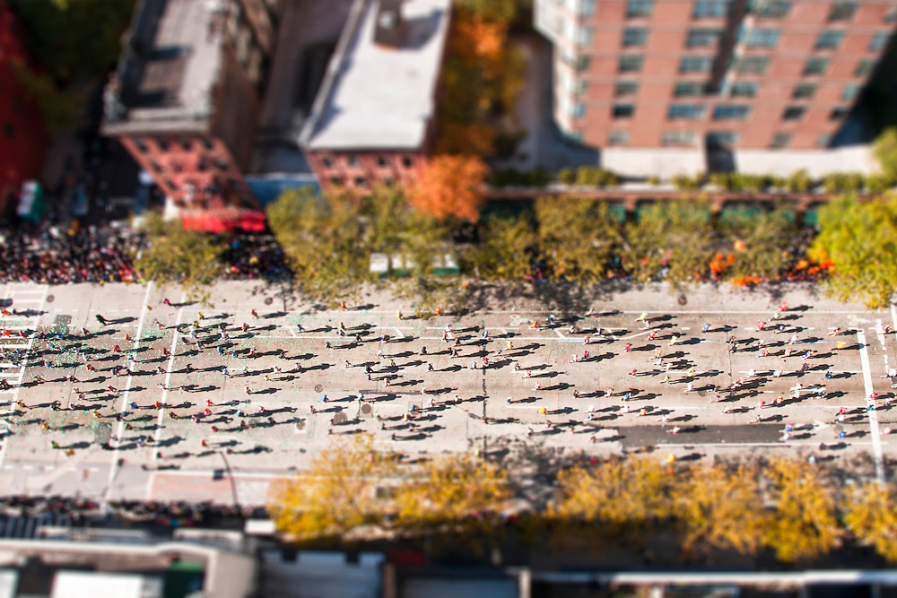 Tilt Shift NYC Marathon 1