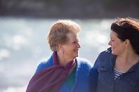 Christine's family photos on the Thames Coast Coromandel Peninsula Photography by Felicity Jean Photography Family Portraits 2016 for Christine's 70th Birthday Gathering