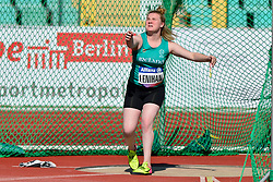 Noelle Lenihan, IRE competing in the F38, Discus at the Berlin 2018 World Para Athletics European Championships