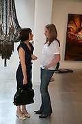 Danielle Arnaud and Poppy Sebire, Anticipation.- Produced by Flora Fairbairn. Curated by Kay Saatchi and Catriona Warren. 111 Great Titchfield St. London W1. 23 May 2007.  -DO NOT ARCHIVE-© Copyright Photograph by Dafydd Jones. 248 Clapham Rd. London SW9 0PZ. Tel 0207 820 0771. www.dafjones.com.