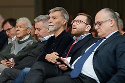 Foto LaPresse/Filippo Rubin<br /> 17/11/2019 Bologna (Italia)<br /> Cronaca Politica<br /> Assemblea Pd a Bologna - Eataly Fico Bologna<br /> Nella foto: GRAZIANO DELRIO<br /> <br /> Photo LaPresse/Filippo Rubin<br /> November 17th, 2019 Bologna (Italy)<br /> Politics<br /> PD meeting - Fico Eataly World Bologna <br /> In the pic: GRAZIANO DELRIO