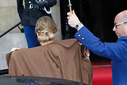 Nieuwjaarsreceptie van koning Willem-Alexander en koningin Maxima in het Paleis op de Dam voor de Nederlandse genodigden<br /> <br /> New Year's Reception of King Willem-Alexander and Maxima Queen in the Royal Palace for the Dutch guests<br /> <br /> Op de foto / On the photo: Queen Maxima