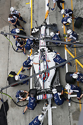 September 29, 2017 - Sepang, Malaysia - Motorsports: FIA Formula One World Championship 2017, Grand Prix of Malaysia, ..#18 Lance Stroll (CAN, Williams Martini Racing) (Credit Image: © Hoch Zwei via ZUMA Wire)