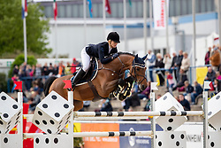 BECK Julia (GER), Champion d'Amour<br /> Mannheim - Maimarkt Turnier 2019<br /> Preis der Stadt Mannheim<br /> Int. Springprüfung nach Strafpunkten und Zeit (1.50 m) <br /> 06. Mai 2019<br /> © www.sportfotos-lafrentz.de/Stefan Lafrentz