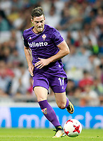 ACF Fiorentina's Jordan Veretout during Santiago Bernabeu Trophy. August 23,2017. (ALTERPHOTOS/Acero)