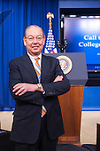 University of Tennessee Chancellor Jimmy Cheek attends the Expanding College Opportunity event in DC