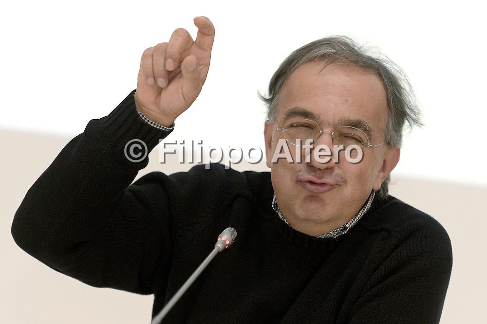 © Filippo Alfero<br /> Assemblea Azionisti Fiat 2014<br /> Torino, 01/08/2014<br /> Nella foto: Sergio Marchionne