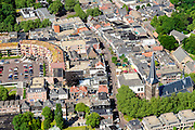 Nederland, Gelderland, Zevenaar, 09-06-2016; centrum van Zevenaar met Markt en Kerkstrata, Andreaskerk.<br /> luchtfoto (toeslag op standard tarieven);<br /> aerial photo (additional fee required);<br /> copyright foto/photo Siebe Swart