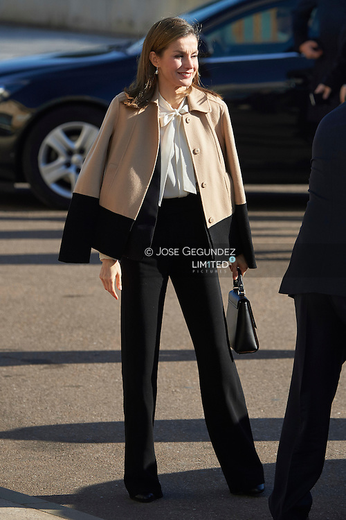 Queen Letizia of Spain attended the Opening of the 29th edition of Agriculture Fair 'AGROEXPO' in Don Benito, Badajoz, Spain