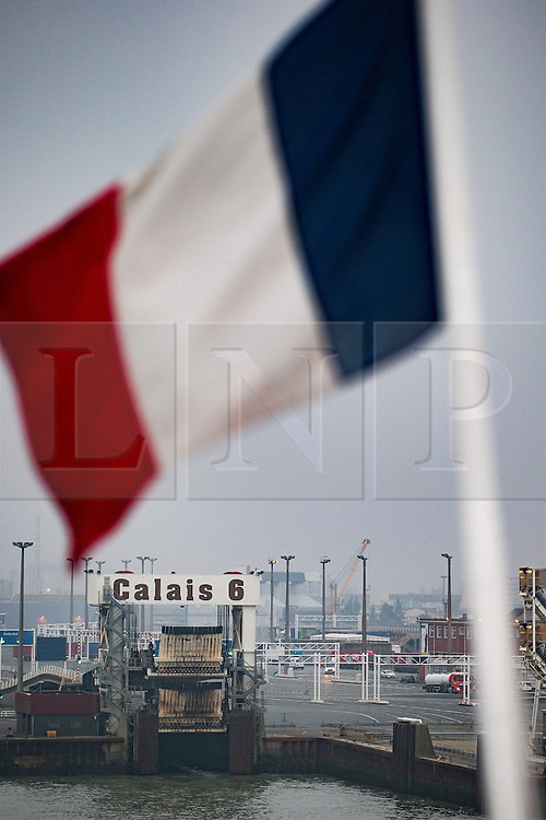 © Licensed to London News Pictures . 24/10/2016 . Calais , France . General View of The Port of Calais , Northern France . Photo credit: Joel Goodman/LNP