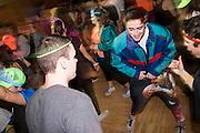 Gonzaga students host a Dance Marathon benefitting Sacred Heart Children's Hospital on Feb. 6 at the Hemmingson Center Ballroom.  Austin Ilg photo.
