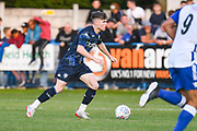 Leeds United defender Leif Davis (3) during the Pre-Season Friendly match between Guiseley  and Leeds United at Nethermoor Park, Guiseley, United Kingdom on 11 July 2019.