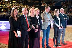 De Vos Ingmar, BEL, Philippaerts Ludo, Bollen Peter, BEL<br /> Vlaanderens Kerstjumping - Memorial Eric Wauters - Mechelen 2018<br /> © Hippo Foto - Dirk Caremans<br /> 30/12/2018