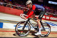 """GENT, BELGIUM, NOVEMBER 12: Bradley Wiggins pictured during """"Ciao Fabian"""". An event to honour Fabian Cancellara's carreer. In Kuipke, Gent, Belgium on Saturday, november 12 2016 *** © Gregory Van Gansen***"""