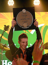 08-02-2014 ALGEMEEN: HULDIGING HHH: SOTSJI<br /> Huldiging van de drie medaille winnaars in een vol Holland Heineken House / Jan Blokhuijsen<br /> ©2014-FotoHoogendoorn.nl