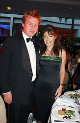 JO BAMFORD and ELOISE NAPIER at the Game Conservancy Jubilee Ball in aid of the Game Conservancy Trust held at The Hurlingham Club, London SW6 on 26th May 2005<br /><br />NON EXCLUSIVE - WORLD RIGHTS
