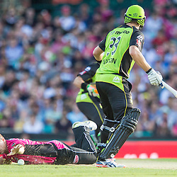 Sydney Sixers v Sydney Thunder | Big Bash League T20  | 16 January 2016
