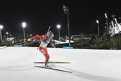 February 11, 2018 - Pyeongchang, GANGWON, SOUTH KOREA - Feb 10, 2018-Pyeongchang, South Korea-Terezia POLIAKOVA of Slovakia action on the snow during an Olympic Biathlon Women Sprint 7.5Km at Biathlon Center in Pyeongchang, South Korea. (Credit Image: © Gmc via ZUMA Wire)
