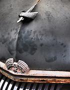 Americana.<br /> <br /> Mercury grille, Dayton, Ohio.