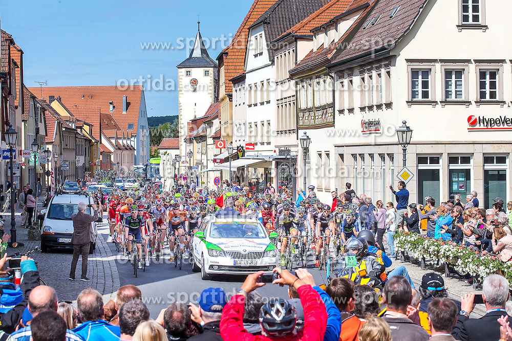 Radsport: 36. Bayern Rundfahrt 2015 / 5. Etappe, Hassfurt - Nuernberg, 17.05.2015<br /> Cycling: 36th Tour of Bavaria 2015 / Stage 5, <br /> Hassfurt - Nuernberg, 17.05.2015<br /> Start,