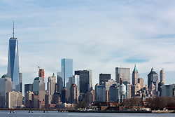 Lower Manhattan skyline, 2015