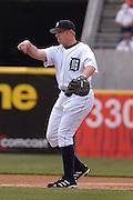 Apr 11, 2006; Detroit, MI, USA:  Detroit Tiger first baseman Chris Shelton, Comerica Park vs. Chicago White Sox.