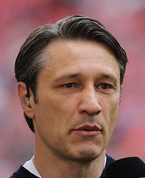 18.05.2019, Allianz Arena, Muenchen, GER, 1. FBL, FC Bayern Muenchen vs Eintracht Frankfurt, 34. Runde, Meisterfeier nach Spielende, im Bild Bayern Cheftrainer Niko Kovac // during the celebration after winning the championship of German Bundesliga season 2018/2019. Allianz Arena in Munich, Germany on 2019/05/18. EXPA Pictures © 2019, PhotoCredit: EXPA/ SM<br /> <br /> *****ATTENTION - OUT of GER*****