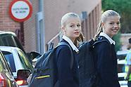 091119 Spanish Royals take their Children to the School
