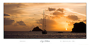 Amneris<br /> Ahhh, St. Barth's! Parked in the perfect anchorage outside of Gustavia, on the perfect little island of St. Barth's, sailors cruising aboard Amneris enjoy the same perfect sunset day after day (probably while enjoying a perfect bottle of French wine)! <br /> Canon EOS 1Ds Mark III camera with 70-200mm lens.