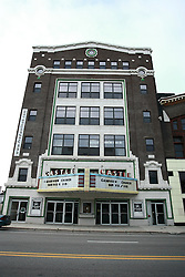 13 June 2009: Bloomington Illinois, the Castle Theater for much of it's live still have the marquis over the entrance.  Now used as a church, the building once housed one of 3 big screen's in Bloomington - Normal.  The other two were the Irvin and the Normal.  The Normal is still open and operational showing older movies at discount pricing.  The Castle has been many businesses since theatrics ceased.