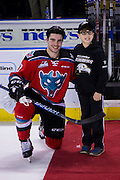 KELOWNA, CANADA - NOVEMBER 18:  First Star of the Game Dillon Dube #19 of the Kelowna Rockets at the Kelowna Rockets game on November 18, 2016 at Prospera Place in Kelowna, British Columbia, Canada.  (Photo By Cindy Rogers/Nyasa Photography,  *** Local Caption ***