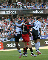 Fotball Tippeligaen 10.06.07 Rosenborg - Fredrikstad <br /> Yssouf Kone, Patrik Gerrbrand, Daniel Braaten<br /> Foto: Carl-Erik Eriksson, Digitalsport