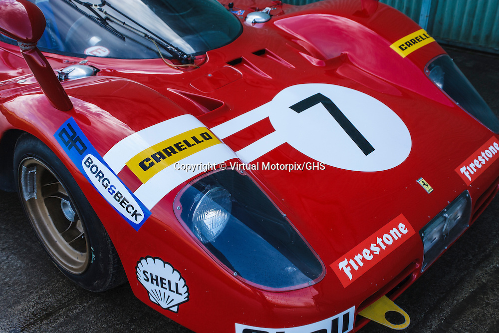 Ferrari 512 S, chassis 1026, 5 litre V12 (1970), Nick Mason, photographed in Gloucestershire in 2016