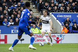 March 9, 2019 - Leicester, Leicestershire, United Kingdom - Kevin McDonald of Fulham FC during the Premier League match between Leicester City and Fulham at the King Power Stadium, Leicester on Saturday 9th March 2019. (Credit Image: © Mi News/NurPhoto via ZUMA Press)