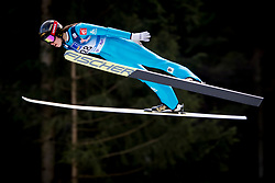 Lea Lemare from France during Qualification Round at Day 2 of FIS Ski Jumping World Cup Ladies Ljubno 2018, on January 27, 2018 in Ljubno ob Savinji, Slovenia. Photo by Urban Urbanc / Sportida