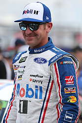 September 30, 2018 - Charlotte, NC, U.S. - CHARLOTTE, NC - SEPTEMBER 30: #14: Clint Bowyer, Stewart-Haas Racing, Ford Fusion Mobil 1/Advance Auto Parts  before the Monster Energy NASCAR Cup Series Playoff Race Bank of America ROVAL 400 on September 30, 2018, at Charlotte Motor Speedway in Concord, NC. (Photo by Jaylynn Nash/Icon Sportswire) (Credit Image: © Jaylynn Nash/Icon SMI via ZUMA Press)