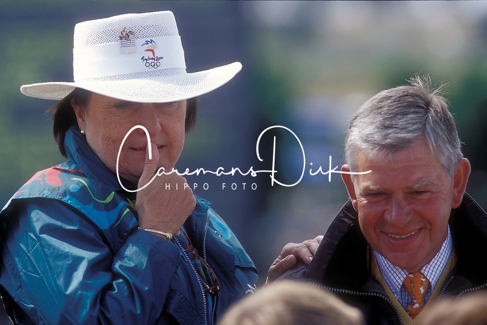 Withages Mariette, Johan Hinnemann<br /> Olympic Games Sydney 2000<br /> © Hippo Foto