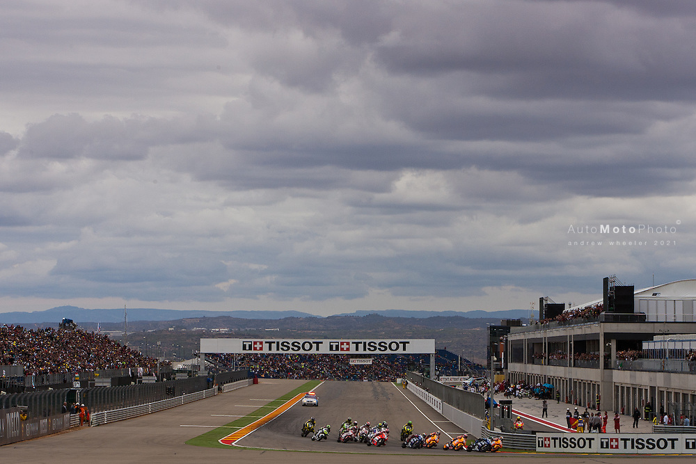 2011 MotoGP World Championship, Round 14, Motorland Aragon, Spain, 18 September 2011, MotoGp Race Ambience