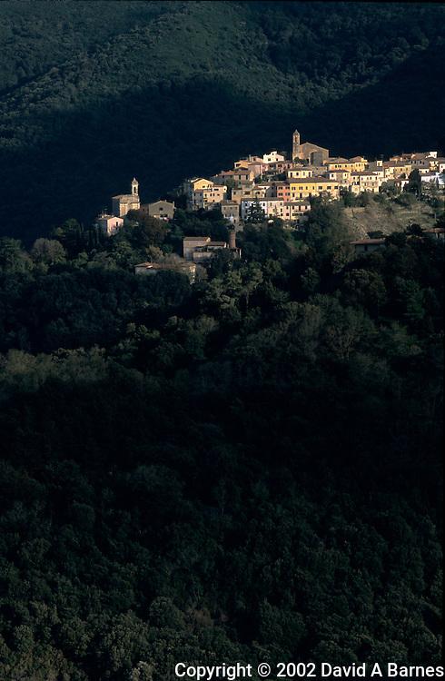Poggio; Island of Elba; Tuscany; Italy
