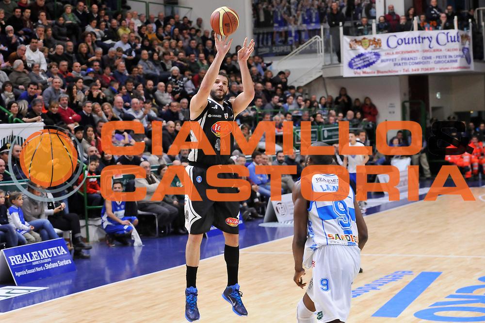 DESCRIZIONE : Campionato 2014/15 Dinamo Banco di Sardegna Sassari - Pasta Reggia Juve Caserta<br /> GIOCATORE : Dejan Ivanov<br /> CATEGORIA : Tiro Tre Punti<br /> SQUADRA : Pasta Reggia Juve Caserta<br /> EVENTO : LegaBasket Serie A Beko 2014/2015<br /> GARA : Dinamo Banco di Sardegna Sassari - Pasta Reggia Juve Caserta<br /> DATA : 29/12/2014<br /> SPORT : Pallacanestro <br /> AUTORE : Agenzia Ciamillo-Castoria / Luigi Canu<br /> Galleria : LegaBasket Serie A Beko 2014/2015<br /> Fotonotizia : Campionato 2014/15 Dinamo Banco di Sardegna Sassari - Pasta Reggia Juve Caserta<br /> Predefinita :
