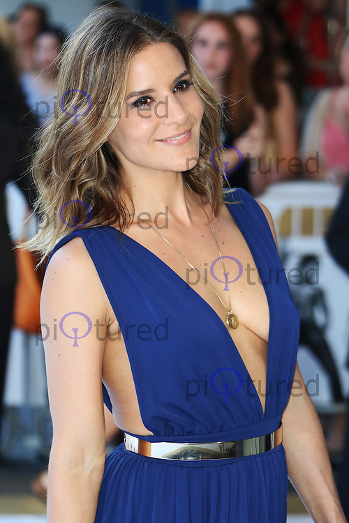 Amanda Byram, Magic Mike XXL - European Film Premiere, Leicester Square, London UK, 30 June 2015, Photo by Richard Goldschmidt