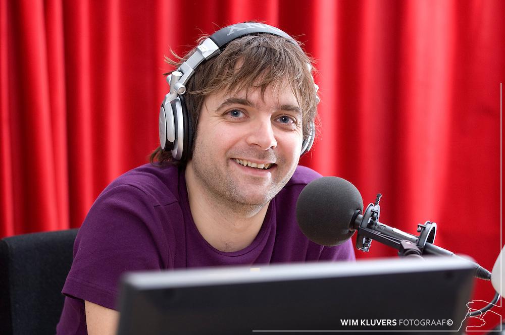 Hilversum  20070130.KRO presentator Jaap radio 6